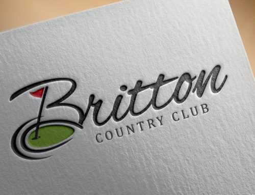 Britton Country Club Logo Design