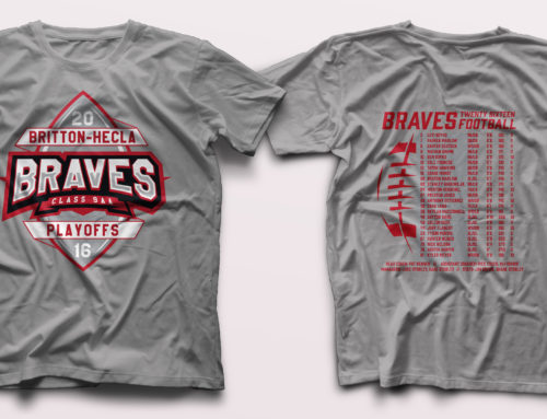 Britton-Hecla Braves Playoff Apparel