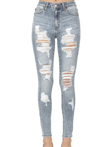 6787bf7e591 Kan Can Light Distressed Jeans – HH Design